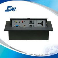 Boss table accessory tabletop rj45 female socket /table receptacle