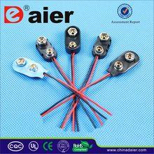 Daier 9 volt battery connector clip 9v battery snap