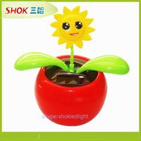 Car Decoration Solar Toy Product flip flap flower,flip flap solar flower toy