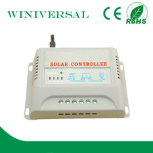 20A pwm solar charge controller manual solar controller 12v/24v remote control for blue star ac