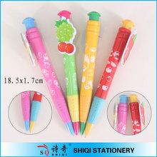 Novelty plastic customized clip pen