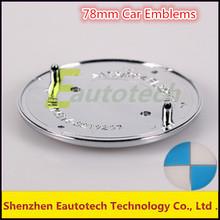 78mm Car Emblems Wheel Center Caps Glue Wheel Cover