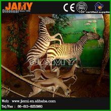 Simulation Animal Life Size Zebra