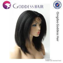 Fast delivery aaaaa raw yaki human hair full lace wig ideal hair arts