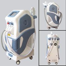 2014 Newest design ipl hair removal beauty equipment/e-light ipl rf+nd yag laser multifunction machine tattoo removal-CE