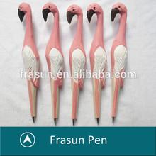 2014 New high quality promotional bird shape smooth writing animal shape pen