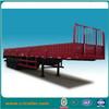 Side wall cargo box transport semi trailer