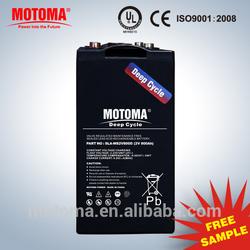 2v800mah long life rechargable ups battery make in china