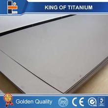 polished titanium sheet