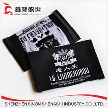 vestuário roupa chinesa daron fabricante etiquetas para calçados