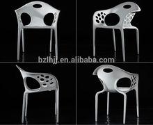 elegant armrest plastic dining/leisure/ garden party/ banquet restaurant chairs 1558