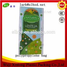 proveedor de bopp recubierto de polipropileno tejido de embalaje de plástico bolsas 25kg