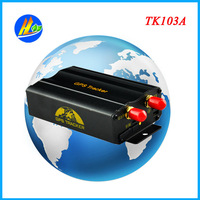 TK103 A Car / Vehicle GPS Tracker with GPS+LBS double tracking solution