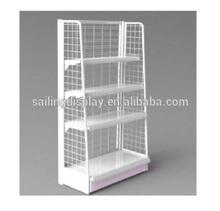 Modern 4-Tier Metal Display Cabinet/ Display Shelves Rack