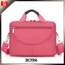 Hot selling pink lady laptop bag laptop messenger bag laptop bag for women
