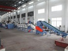 Automatic plastic film recycling production line pp/pe plastic film recycling line