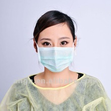 Nonwoven Face mask black white pink with earloop with logo surgical face mask