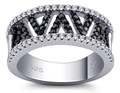 mais recente desenhos anel de casamento feito de 925 esterlina anéis de prata para adolescentes