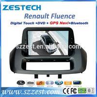 ZESTECH car stereo gps for renault fluence with sat nav car gps