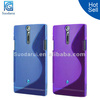 Soft Skin S-line Wave TPU Case For Sony Xperia S LT26i