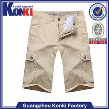 cheap custom casual tight men cotton shorts