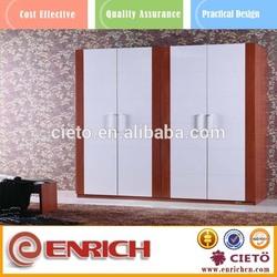 Mix colored 2 door clothing steel bench locker/wardrobe