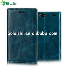 D-Blue For Motorola Razr XT910 PU Leather Flip Case Cover Guard