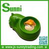 [Sunni]Hot sale customized plastic sensor ceramic pet water bowl for small animals
