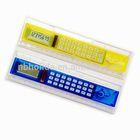 20 cm lcd ruler calculator, clear plastic calculator pcb/ HLD-805
