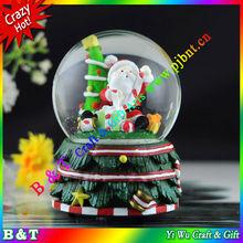 Christmas gift musical snow crystal ball