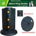 Pop up elettrica egitto spina presa, presa multipla con 2.1a porte usb, punti vendita con porte usb