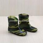 fashion decorative custom made pvc transparent rain boots for kids