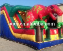18ft T-Rex Dinosaur Inflatable Slide