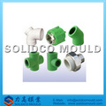 Acoplamiento abocardado/codo/t de tubo de pvc molde de montaje/molde