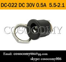 5.5x2.1 MM Electrical socket jack outlet DC outlet DC-022 DC 30V 0.5A 5.5-2.1