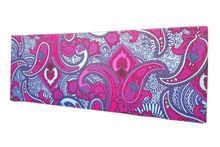 Custom printed yoga mats, folding yoga mat with full color printing