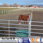 Factory hot sale heavy duty hot dipped galvanized corral panels /metal livestock fence for cattle sheep or horse(Since 1