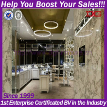 Western style 3d retail jewellery shops interior design images