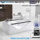 VSPA Double Side Glass Apron PURE ACRYLIC Whirlpool Bathtub V-011L