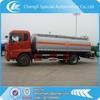 16000 liters fuel tank truck with flow meter