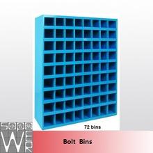 SOPOWER heavy duty small parts storage cabinets steel bin shelving
