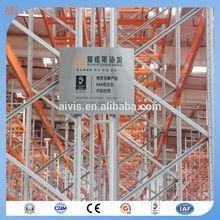 Heavy Duty Pallet Rack Storage / Metal Shelving System / Heavy Duty Steel Pallets Racking