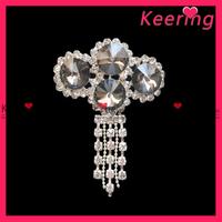 Beautiful fashion diva rhinestone brooch pin wholesale WBR-595