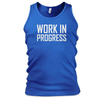 China wholesale mens slogan printed vest/mens slim fit tank top