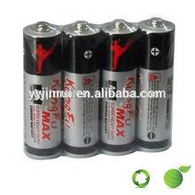 1.5V R6p/AA/UM3 zinc carbon battery