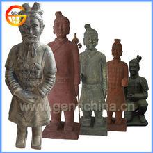 outdoor terracotta replica ornaments design for terracotta warrior replica