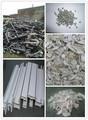 tubo de plástico rígido de perfil de pvc reciclado sucata