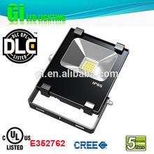 Top quality IP65 UL cUL(UL NO.E352762) DLC LED corded flood light