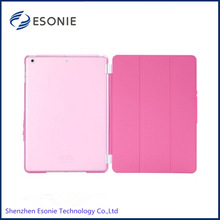 2014 hot sell for ipad air leather smart cover case