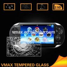 Ultra sottile 0,26 millimetri anti shock 9h vetro temperato protezione dello schermo per sony PS Vita benvenuto oem